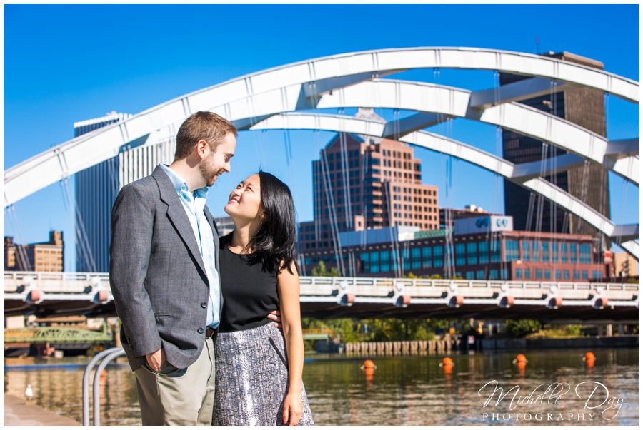 Rochester NY engagement photographers